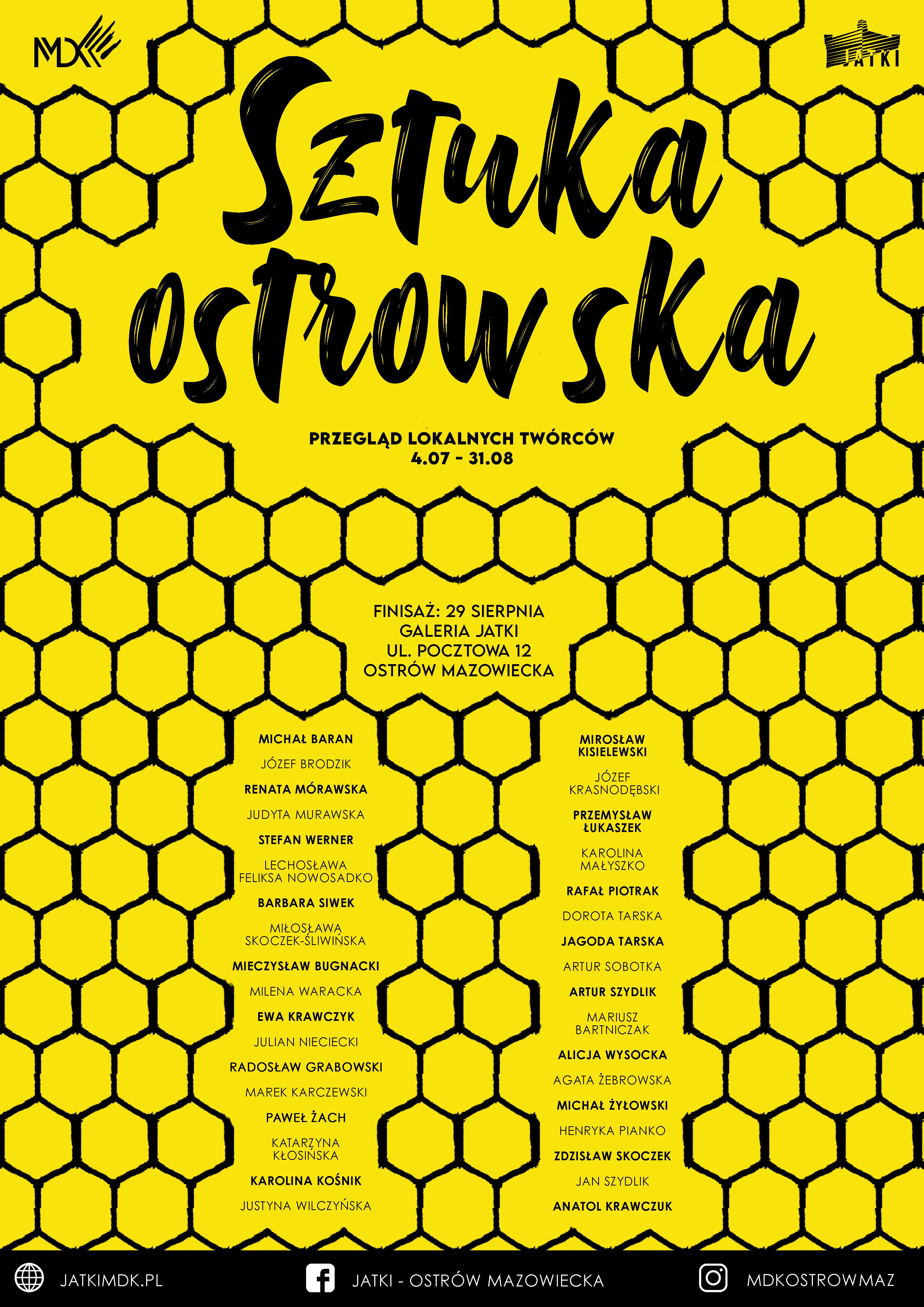 Ostrowska-plakat